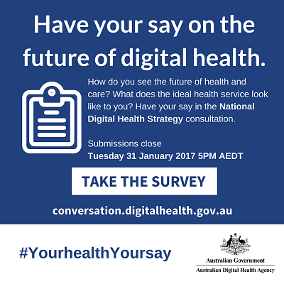 Have your say in digital health - Best Case Scenario Event Management