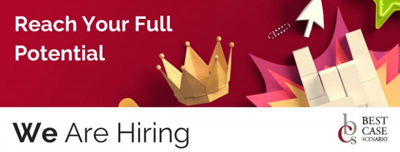 We are hiring - image of crown - Best Case Scenario Event Managment