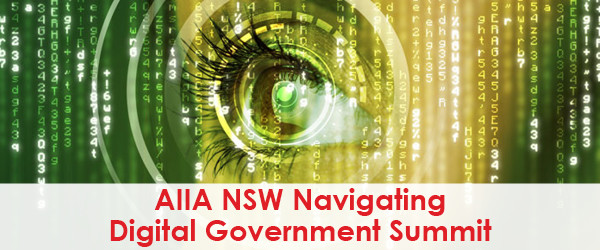 AIIA NSW Navigating Digital Goverment Summit Logo - Best Case Scenario Event Managment