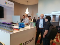 Microsoft Exhibition Stand at eresearch conference