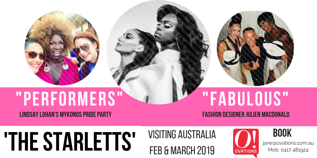 The Starletts, Corporate Entertainment in Australia