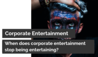 Corporate Entertainment for event planners