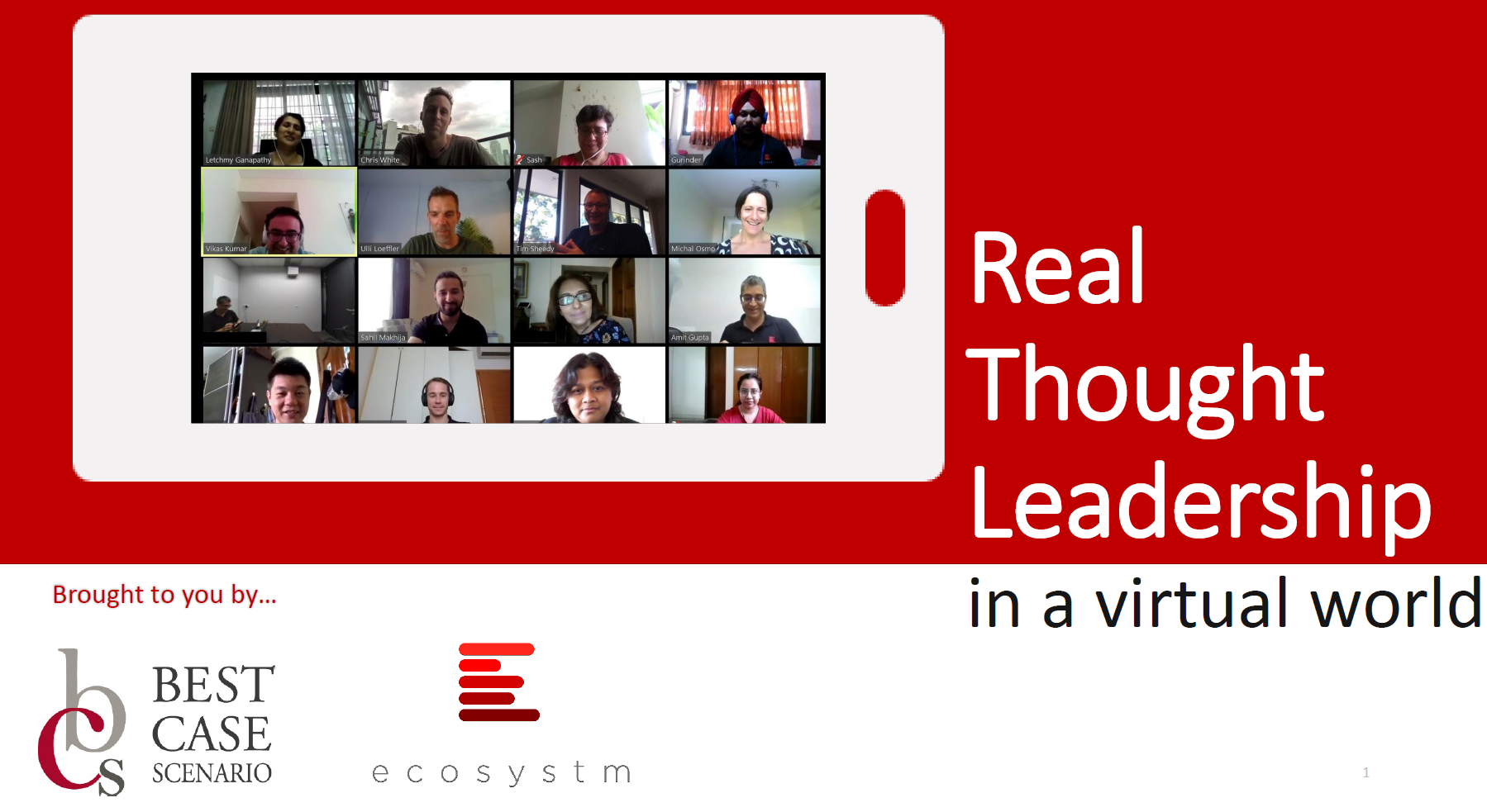 Real Thought Leadership in a Virtual World