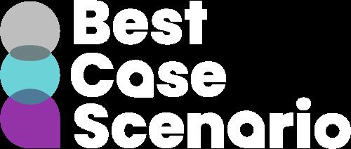 best case scenario new brand logo